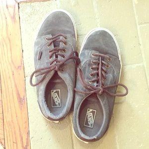 Vans Grey Boys' / Men's Suede Sneakers